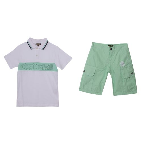 Roberto Cavalli Polo Shirt & Bermuda Shorts