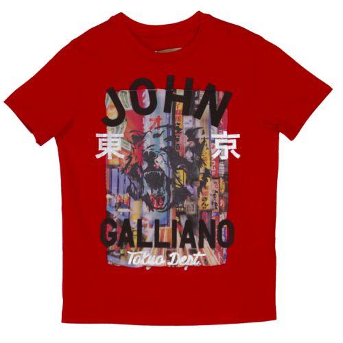 """Red """"Bear Tokyo Dept""""  T-Shirt"""
