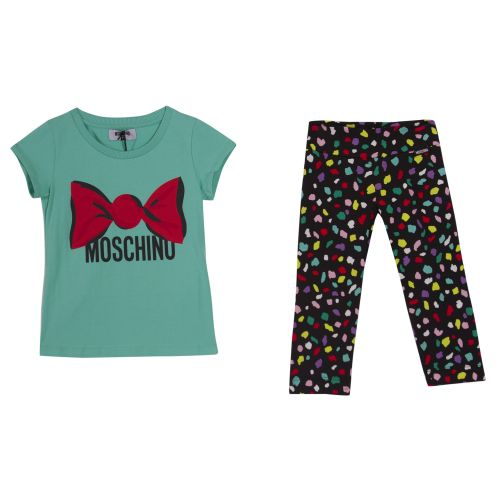 Moschino Top With Leggings - Green