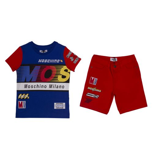 Moschino T-Shirt & Bermuda Shorts - Blue