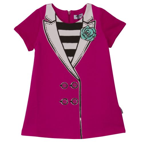 Moschino Dress - Fuschia