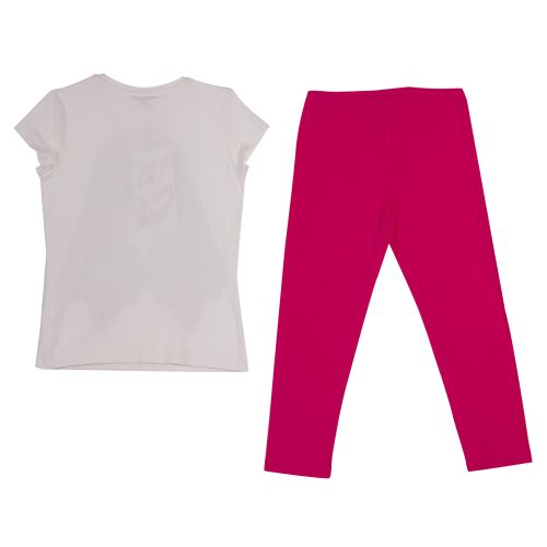 Miss Grant T-Shirt & Leggings - White