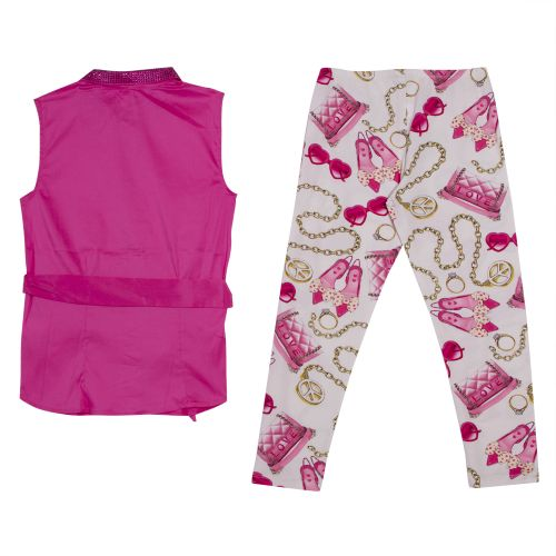 Miss Grant Top & Leggings - Pink