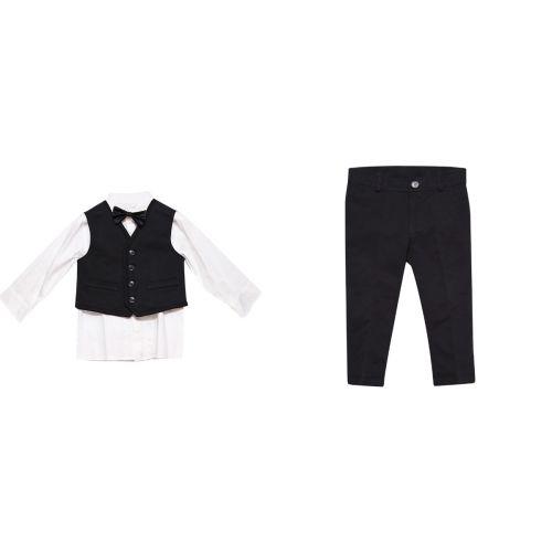 Shirt+Pants+Gillet+Bowtie Aletta