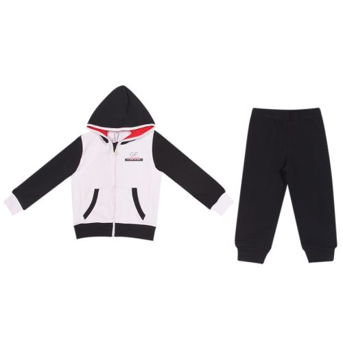 Black & White Jogging Suit
