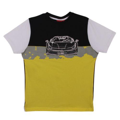 Black & Yellow Shirt with Shorts