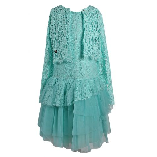 Aletta Dress With Cardigan - Green