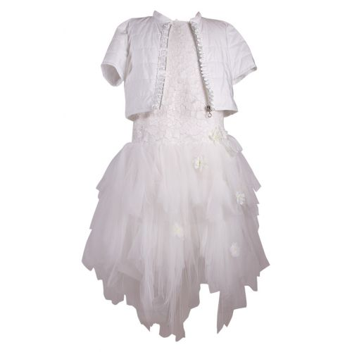 Aletta Dress with Jacket - Off White