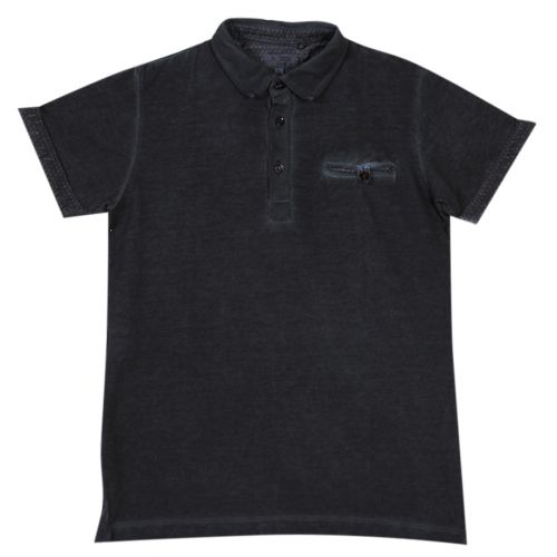 Aletta Polo Shirt - Black