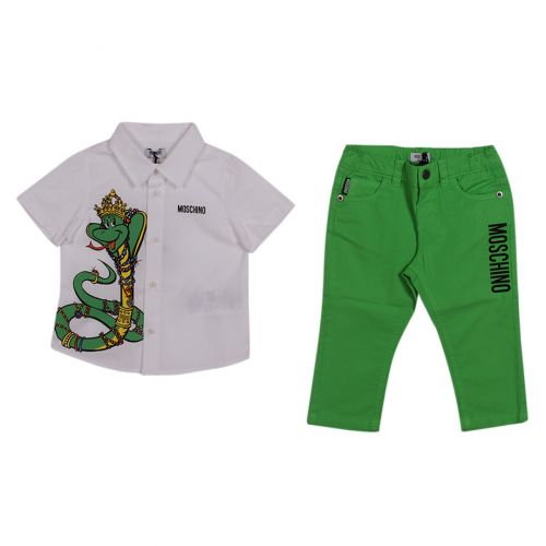 Moschino Polo with Pants