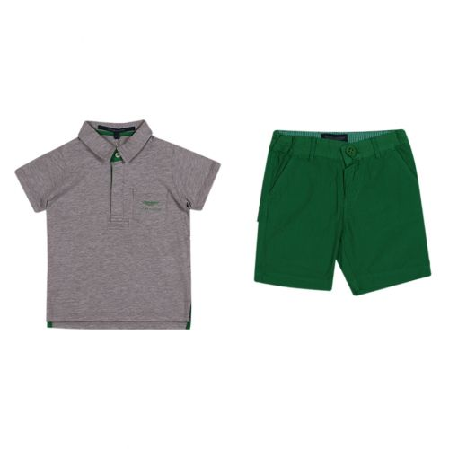 Aston Martin Polo Shirt with Shorts