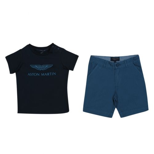 Aston Martin T-shirt with Shorts