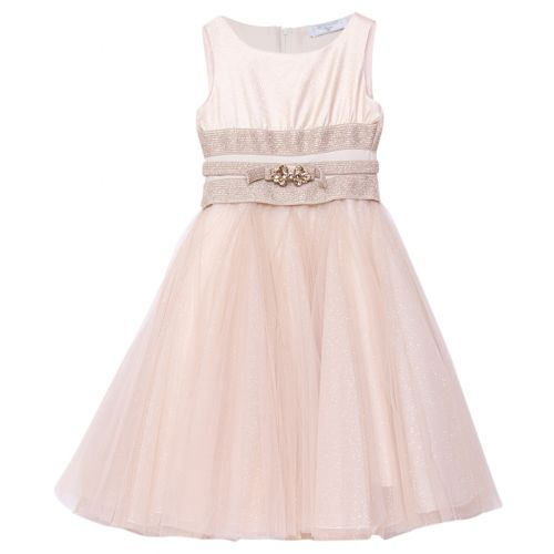 Gold Princess Sleeveless Dress