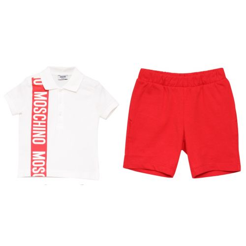 Moschino Polo Shirt with Shorts