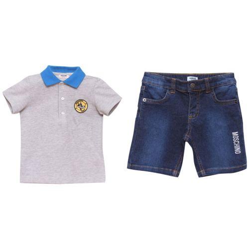 Moschino Polo Shirt with Bermuda