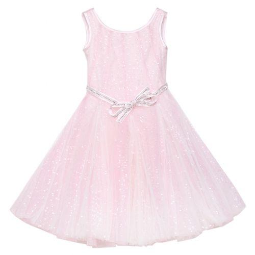 Pink Dress with Rhinestones