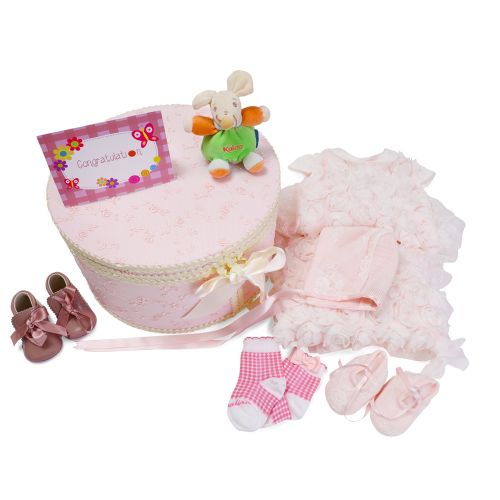 Pink Baby Gift Set